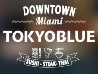 Official Logo of Tokyo Blue Miami